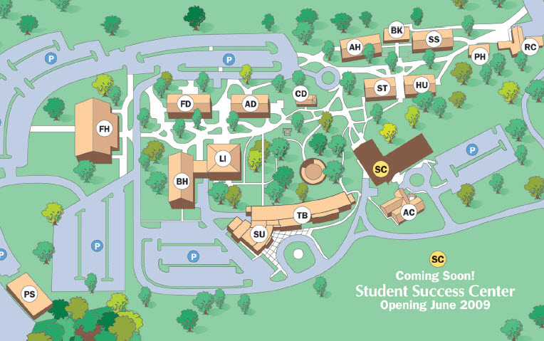 Campus Map and Locations   Butler Community College   Acalog ACMS™